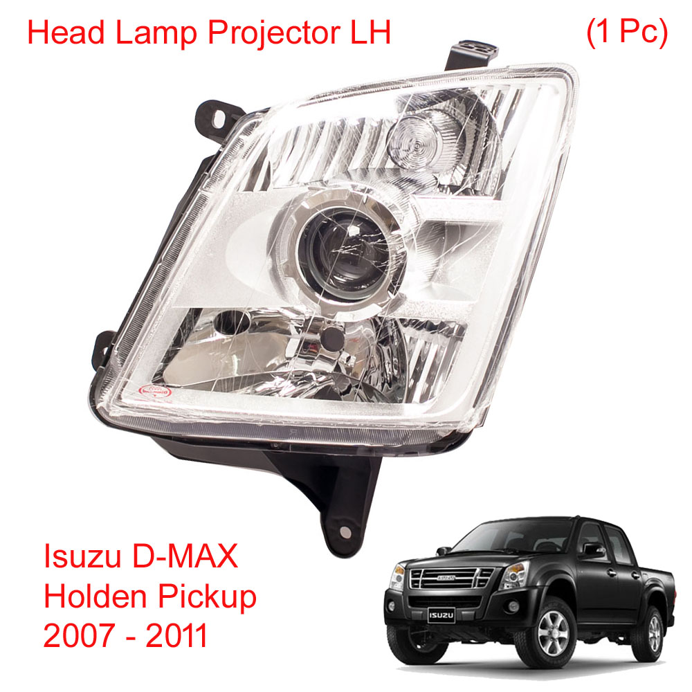 *NEW* HEAD LAMP LIGHT PROJECTOR for ISUZU D-MAX DMAX UTE LS 2012-2017 LEFT LHS