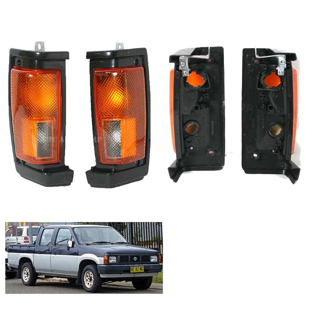 Front Corner Signal Light LR for Nissan Hardbody Truck Pickup D21 Hustler 86-97