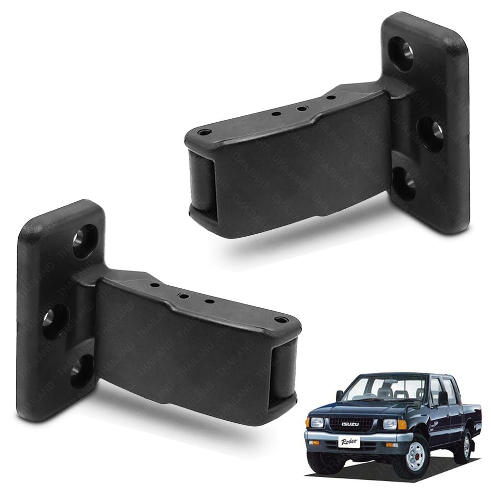 Quarter Window Cab Lock Handle Latch Black 2 Pc For Isuzu Holden TFR 1991-1997