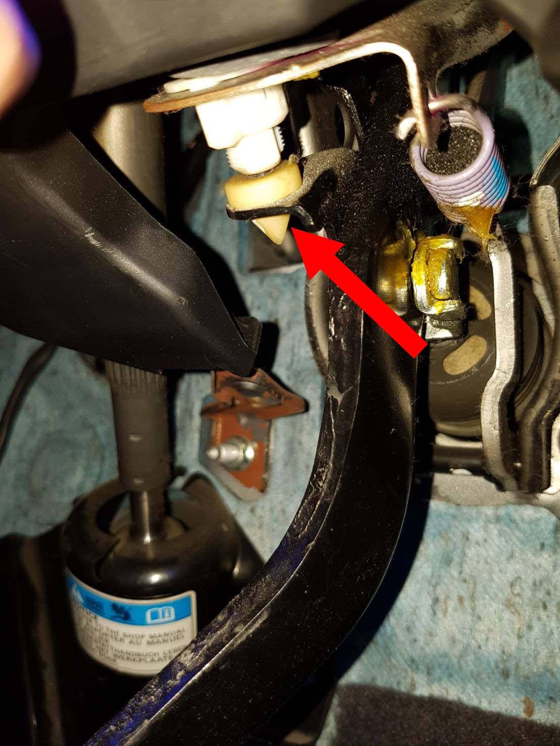 Brake Light Lamp Switch Stopper White Repair For Honda