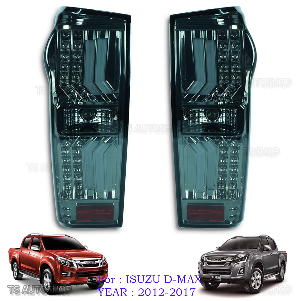 Taillight Tail Light Rear Lamp Cover For Isuzu D-Max Dmax Pickup 2016 2017 2018