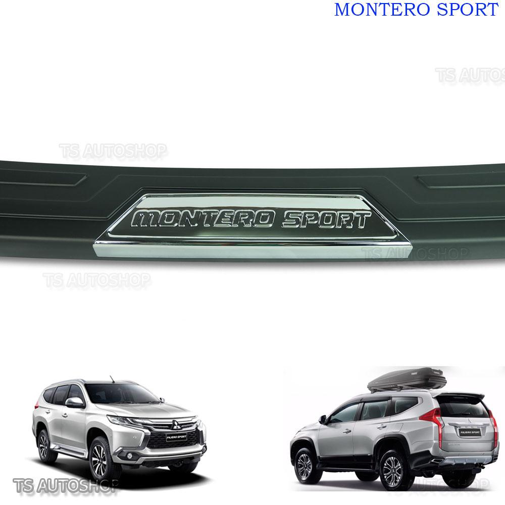 Mitsubishi Montero Pajero Sport Tailgate Spoiler Colour: For Mitsubishi Montero Sport Suv 4x4 Rear Tailgate Bumper