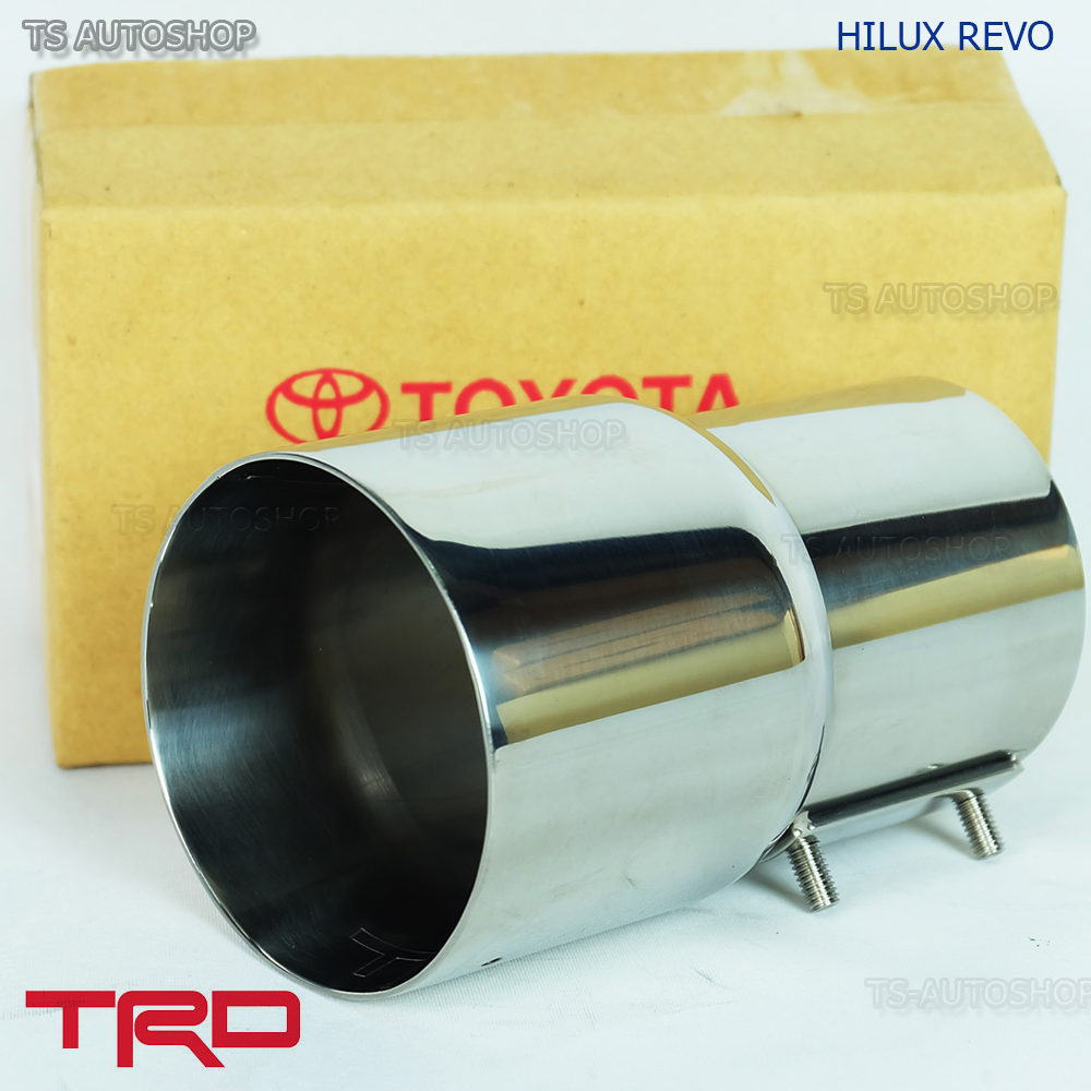 STAINLESS STEEL EXHAUST MUFFLER PIPE FOR TOYOTA FORTUNER SUV 2005-2014 GENUINE