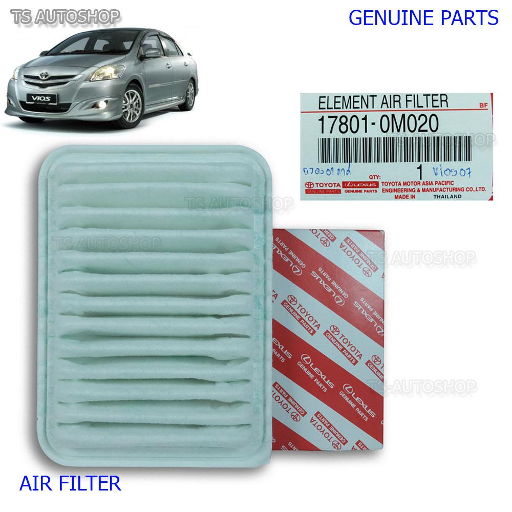 Air Filter Genuine 17801-0M020 For Toyota Belta Vios Yaris 4Dr 2007 2009  2012 13