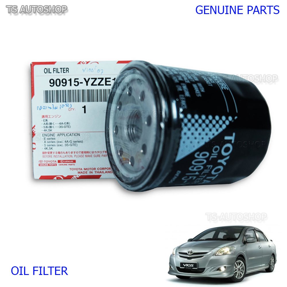 Oil filter genuine 90915 yzze1 fits toyota belta vios for Toyota motor credit payoff number