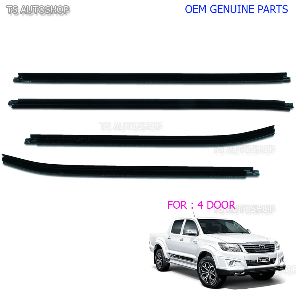 For Toyota Tundra Front Outer Passenger Door Belt Moulding Weatherstrip Genuine