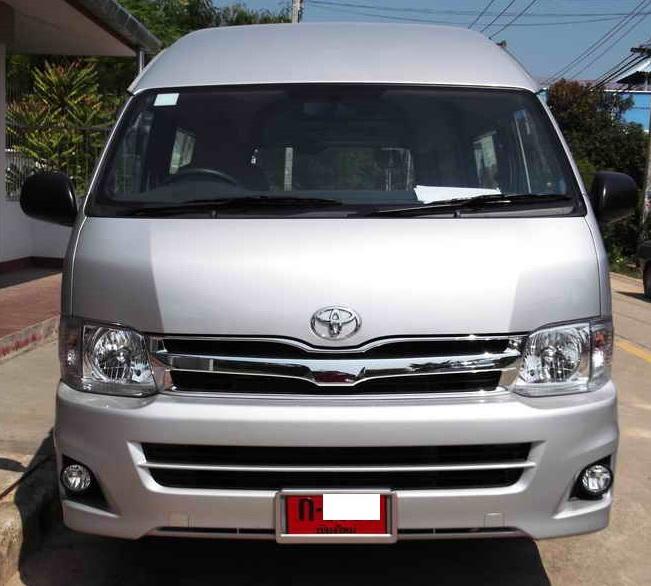 2008 2015 Stainless Steel Windows Sill Trim Door For Toyota Commuter Hiace Van