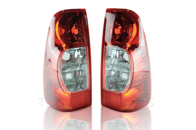 GENUINE L+R DARK RED REAR TAIL LIGHT LAMP FOR ISUZU D-MAX HOLDEN RODEO 2007-2012