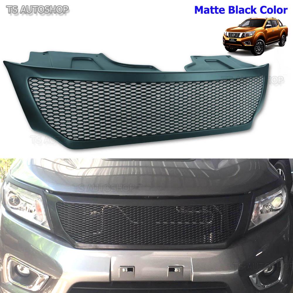 front grill black net grille fit nissan frontier navara. Black Bedroom Furniture Sets. Home Design Ideas