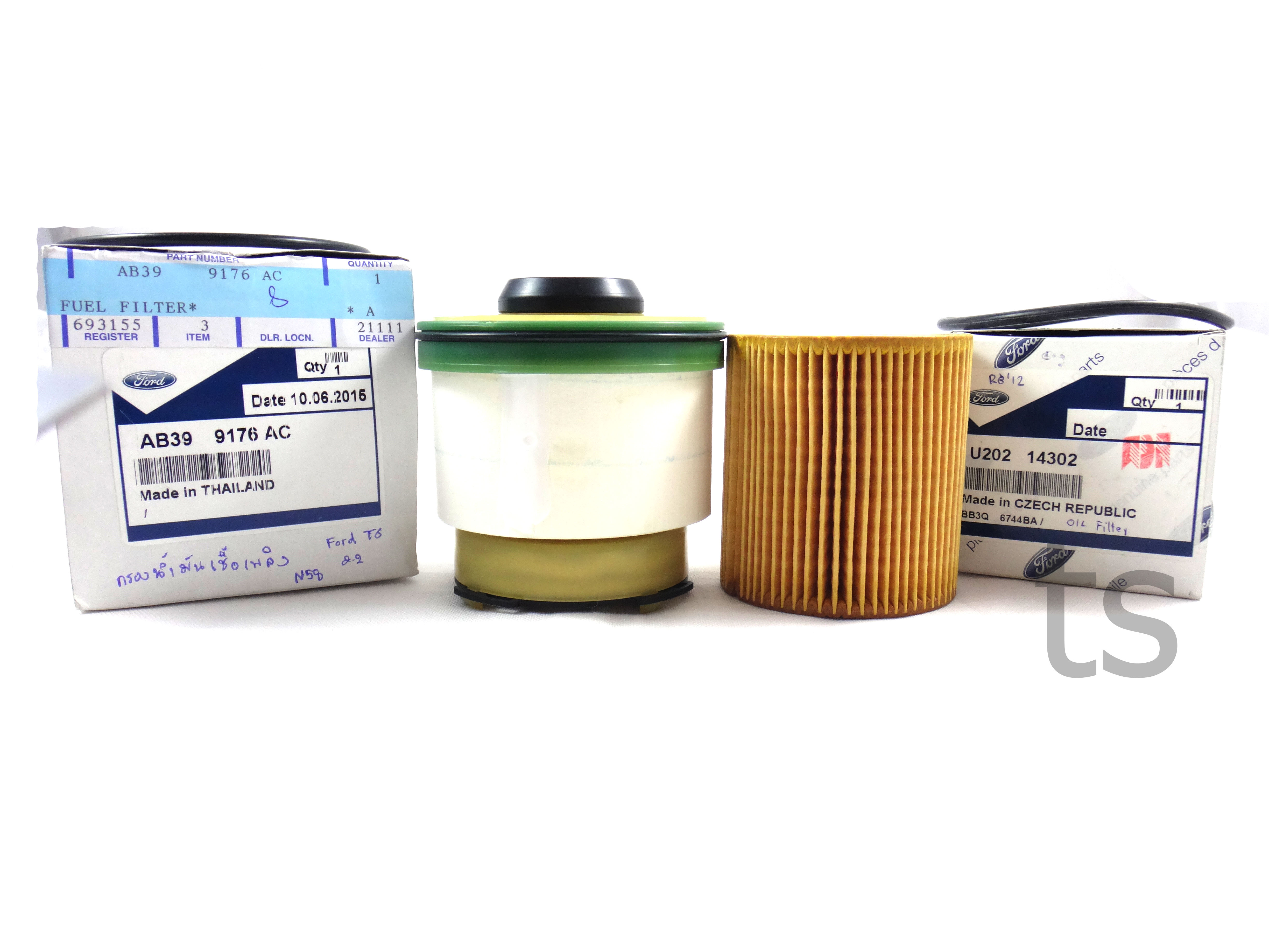 OIL & FUEL FILTER ASM ELEMENT FOR DIESEL FORD RANGER T6 WILDTRAK 12-15  GENUINE