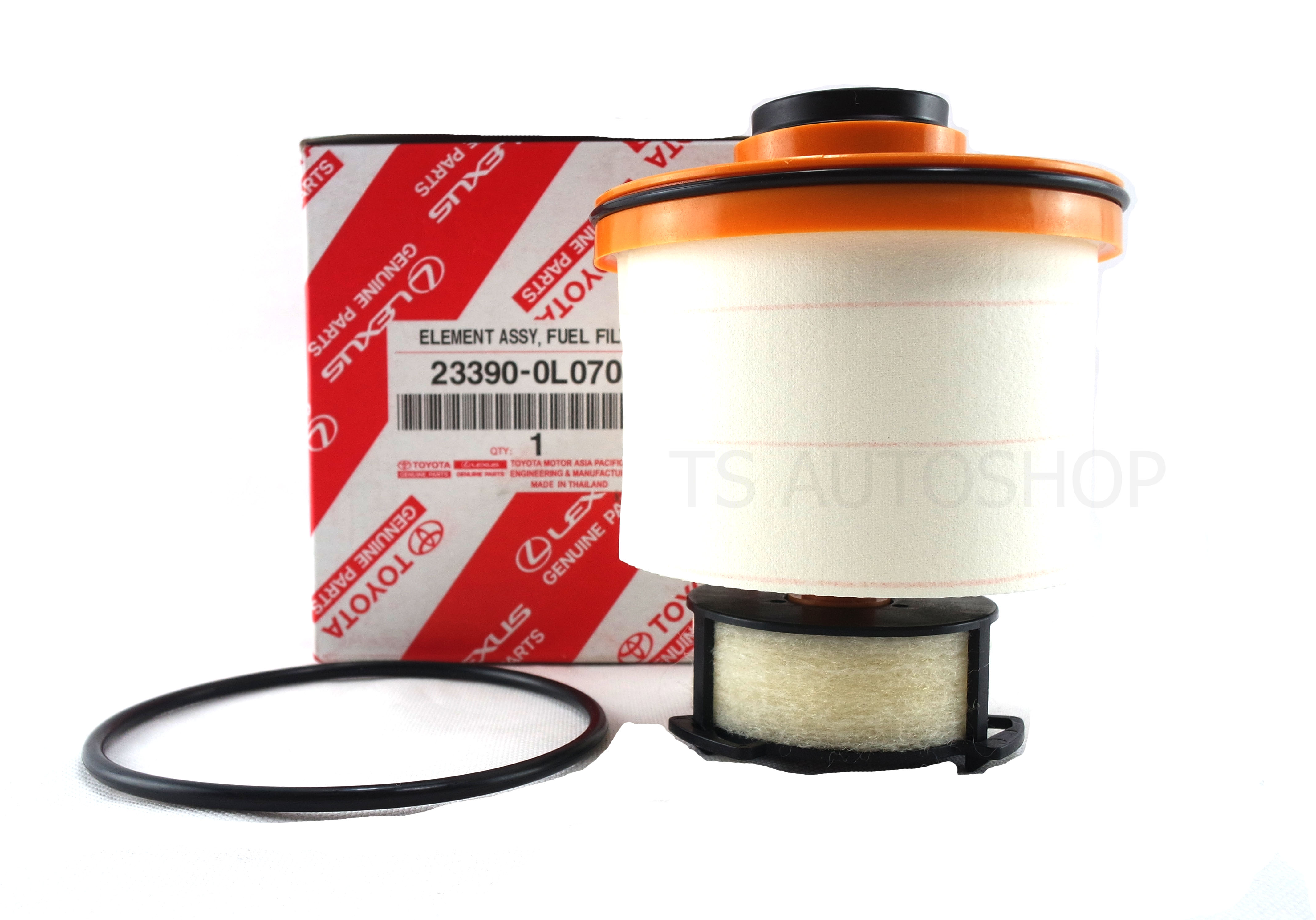 ELEMENT FUEL FILTER GENUINE PARTS FOR TOYOTA HILUX REVO 4DR SR5 M70 M80  2015-ON