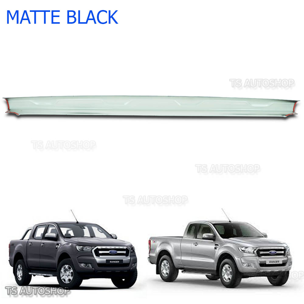 CHROME ACCENT TAILGATE BOWL REAR COVER FIT FORD RANGER T6 MK2 FACELIFT 2012-2016