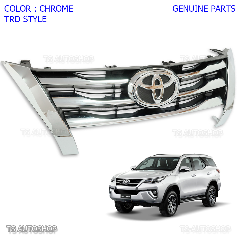 Toyota Suvs 2015: OEM Front Chrome Grill Grille For Toyota Fortuner Suv 2015
