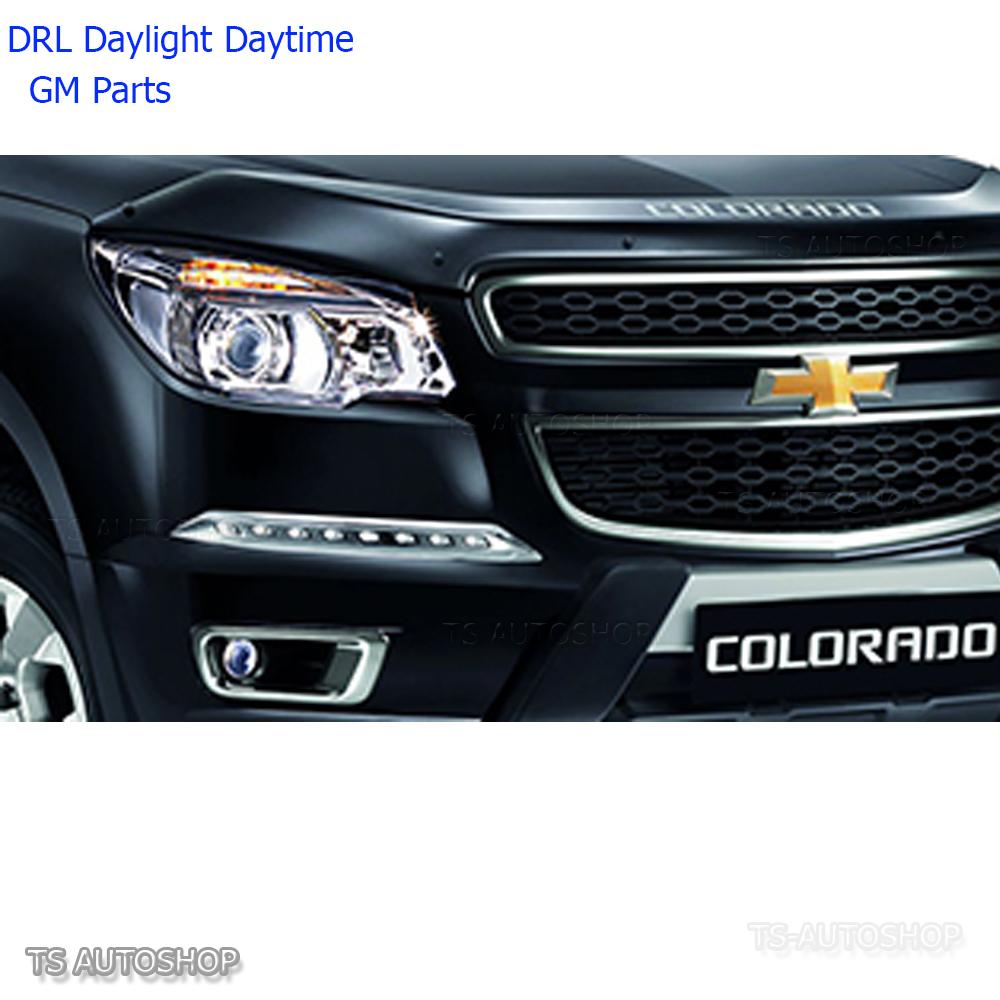 DRL DAYTIME RUNNING LIGHT LED BY FITT FOR CHEVROLET CHEVY COLORADO 2012-2014