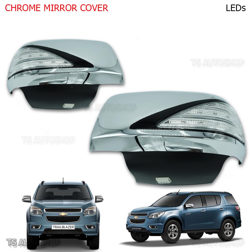 Chrome License Plate Cover  Cover Trim 1 PC For Chevrolet Trailblazer 2012-2014