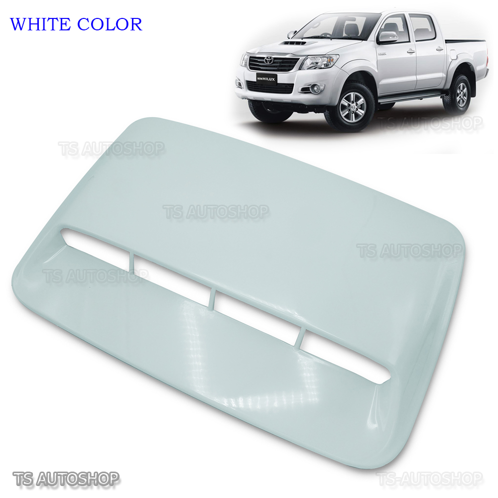 Genuine For Toyota Fortuner Hilux MK7 2011 12 Chrome Scoop Hood Cover Protector