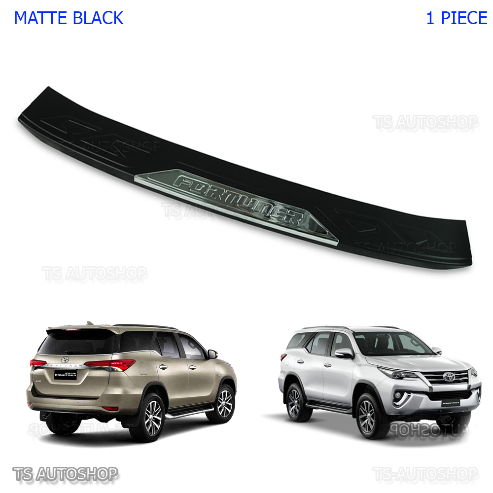 2015 2016 For Toyota Fortuner SUV Hilux SW4 Rear Bumper Guard Protector